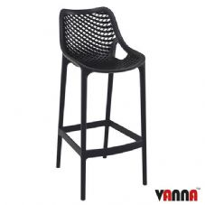 Vanna Spring Bar Stool - Black